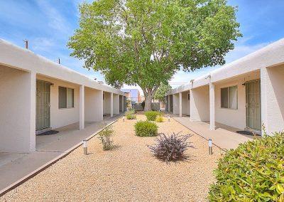 The Roxbury Casa 08A Courtyard