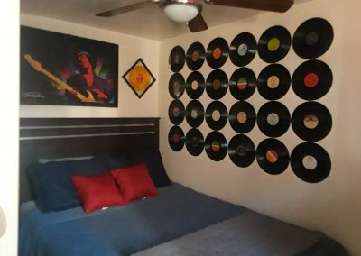 Rock and Roll Pad Bedroom